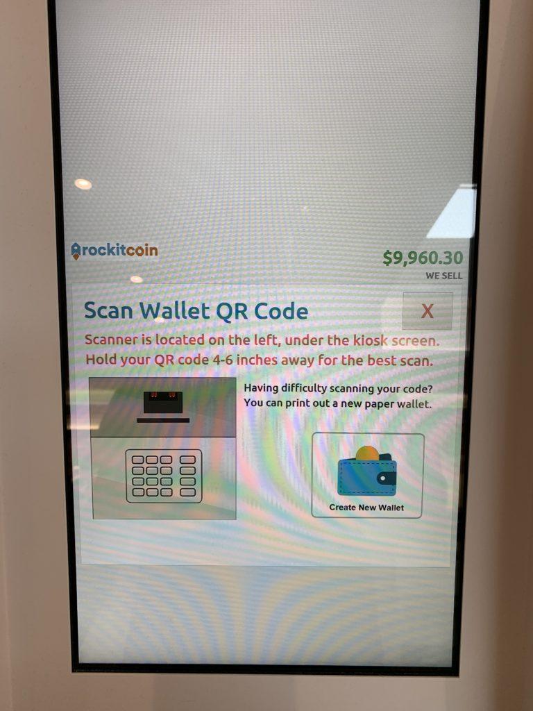 Scan Wallet QR Code