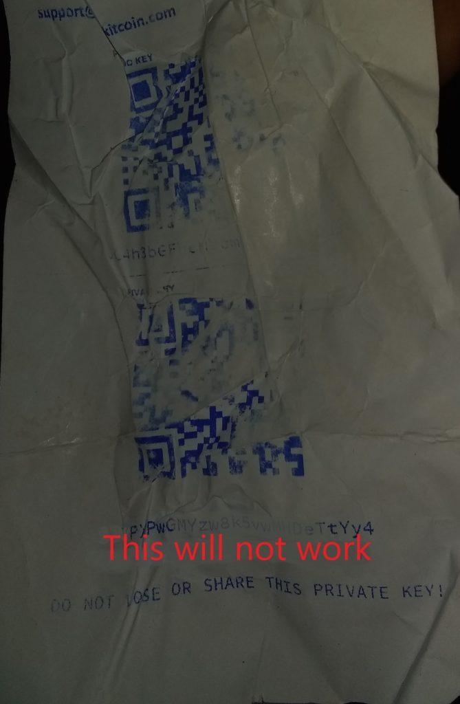 Keep Your Paper Wallet Safe