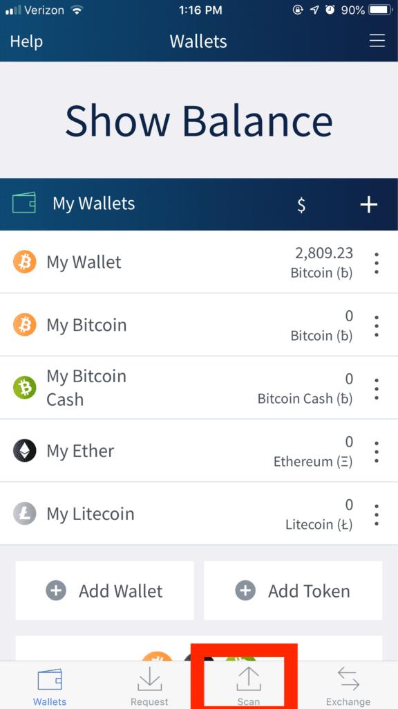 Wallets Balance